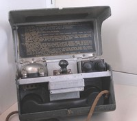 Image of WWII FIELD TELEPHONE SET D MKV