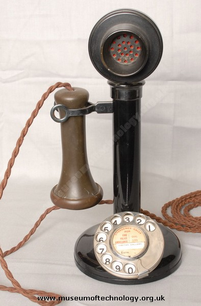 GPO MODEL 150  CANDLESTICK TELEPHONE, 1920's
