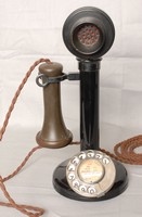 Image of GPO MODEL 150  CANDLESTICK TELEPHONE, 1920's