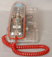 Image of WINDSOR SEE THROUGH NOVELTY TELEPHONE, 1970's
