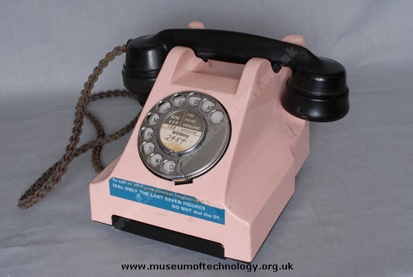 PINK TELEPHONE COVER, 1955