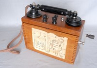 Image of ERICSSON FIELD TELEPHONE, 1920's