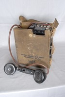 Image of WWII  US FIELD TELEPHONE TYPE EE-8-A