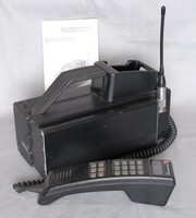Image of MOTOROLA CELLULAR PHONE, 1980's