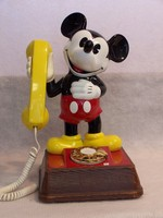 Image of WALT  DISNEY CHARACTER PHONE, 1976