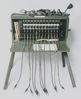 Image of WWII  US ARMY FIELD TELEPHONE (SWITCHBOARD) EXCHANGE BD72