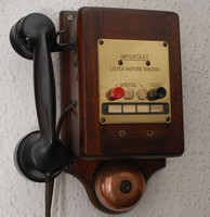Image of GEC RAILWAY TELEPHONE, 1940's