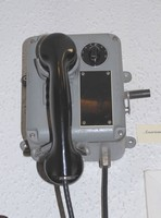 Image of AMERICAN SHIPS WALL TELEPHONE, 1940's