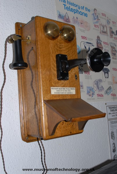 WESTERN ELECTRIC WALL TELEPHONE, 1940's