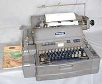 Image of FLEXOWRITER PUNCH TAPE CODING MACHINE, 1950's