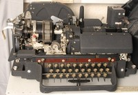 Image of CREED TELEGRAM TELEPRINTER  47B, 1950's