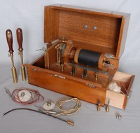 Image of K,SCHALL MEDICAL INDUCTION COIL, 1900's