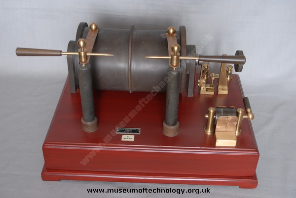 EUREKA 6 INCH RUHMKORFF INDUCTION COIL, 1930's