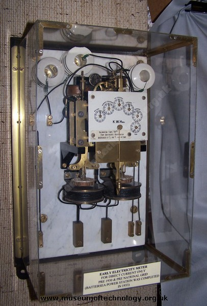 DIRECT CURRENT ELECTRICITY METER, 1930's