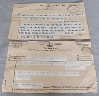 Image of 1965/6 TELEGRAMS, 1965