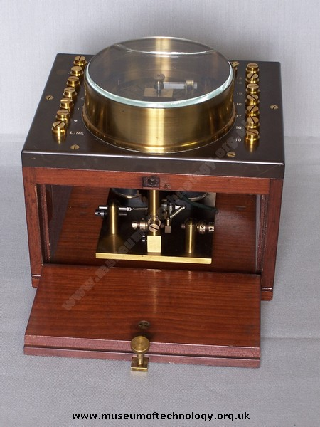 ABC TELEGRAPH COMMUNICATOR TESTER, 1850's