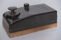 Image of WWII AIR MINISTRY ENCLOSED MORSE KEY TYPE D