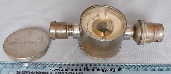DOMESTIC POWER METER BY SIEMENS LTD, 1930's