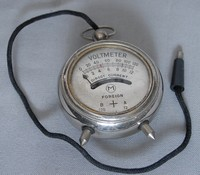 Image of FOB VOLTMETER, 1930's