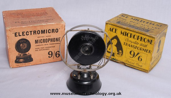 MOVING IRON MICROPHONE, 1930's