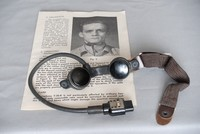 Image of WWII THROAT MICROPHONE T-30-R