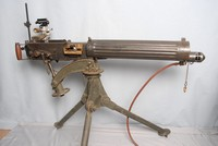 Image of VICKERS HEAVY  MACHINE GUN AND TRIPOD, 1918