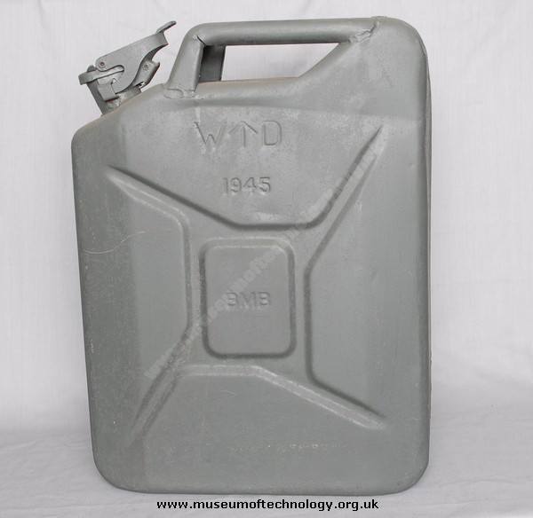 WWII BRITISH JERRYCAN (JERRICAN), 1945