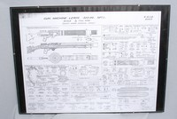 Image of WW1 LEWIS LMG BREAKDOWN SHEET