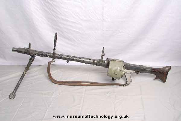 WWII MG 34 LIGHT MACHINE GUN GERMAN, 1938