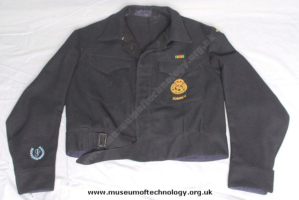 CIVIL DEFENCE JACKET, 1940's