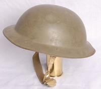 Image of WWII BRODIE HELMET OR TOMMY HAT Mk 2, 1940's