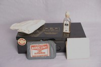Image of WWII ARP (AIR RAID PRECAUTIONS) FIRST AID KIT