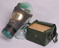 Image of WWII ADULTS CIVILIAN GAS MASK (RESPIRATOR), 1937