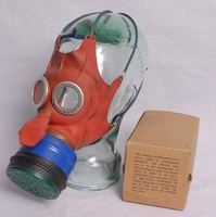 Image of WWII  MICKEY MOUSE GAS MASK (RESPIRATOR)