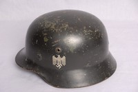 Image of WWII GERMAN 'COAL BUCKET' HELMET, 1935