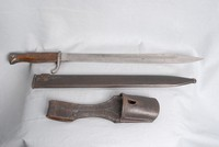 Image of WW1 K 98 MAUSER BAYONET SCABARD AND FROG