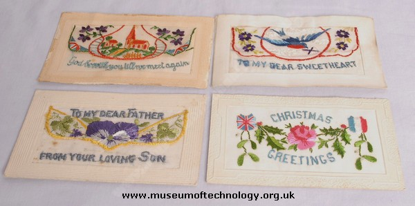 WW1 SILK POST CARDS