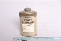 Image of WWII SOLDIERS FOOT POWDER, 1940
