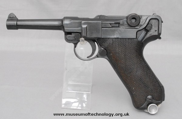 WW1 DWM P08 GERMAN LUGER, 1915