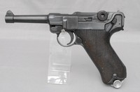 Image of WW1 DWM P08 GERMAN LUGER, 1915