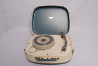 Image of FIDELITY PORTABLE RECORD PLAYER, 1960's