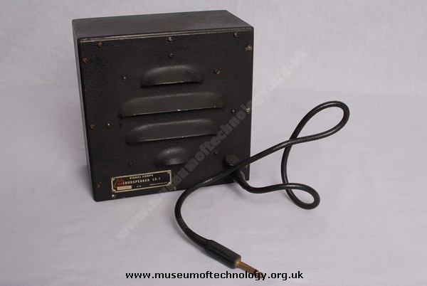 WWII  US SIGNAL CORPS LOUD SPEAKER LS3