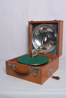 Image of DECCA PORTABLE REFLECTOR GRAMOPHONE, 1920's