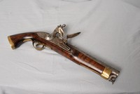 Image of FLINT LOCK PISTOL, 1800's