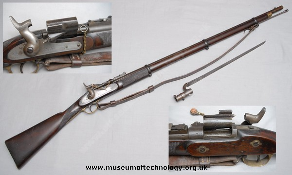 SNIDER ENFIELD RIFLE DATED, 1864