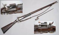 Image of SNIDER ENFIELD RIFLE DATED, 1864