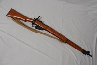 Image of WWII LEE ENFIELD No 4 Mk2 RIFLE, 1945
