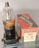 Image of D43 MARCONI VALVE, 1938