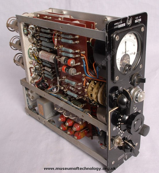 DC4 VALVE AMPLIFIER, 1950's