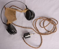 Image of WWII  SG BROWN HEAD SET
